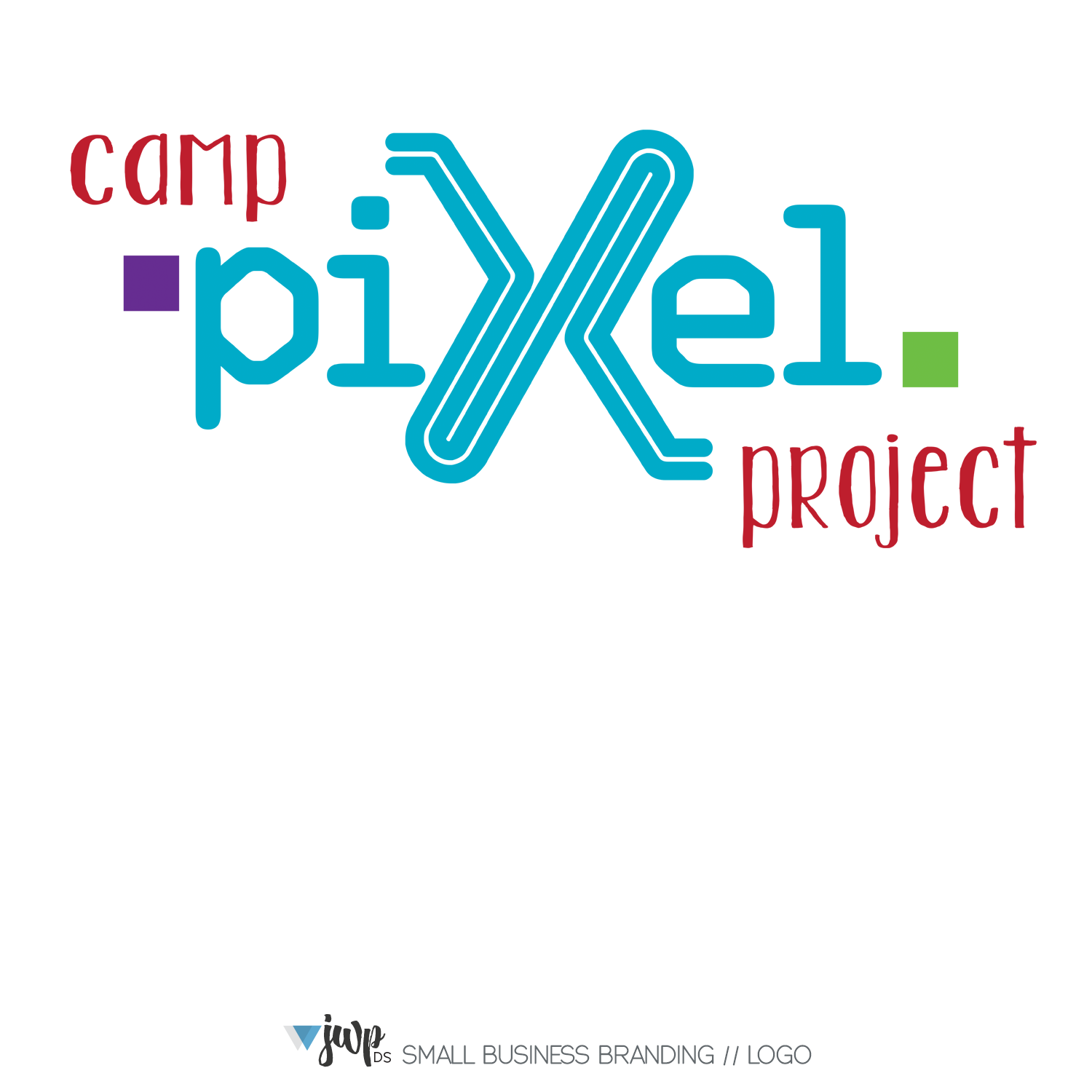 The Woodlands Graphic Design Logo Camp Pixel Project