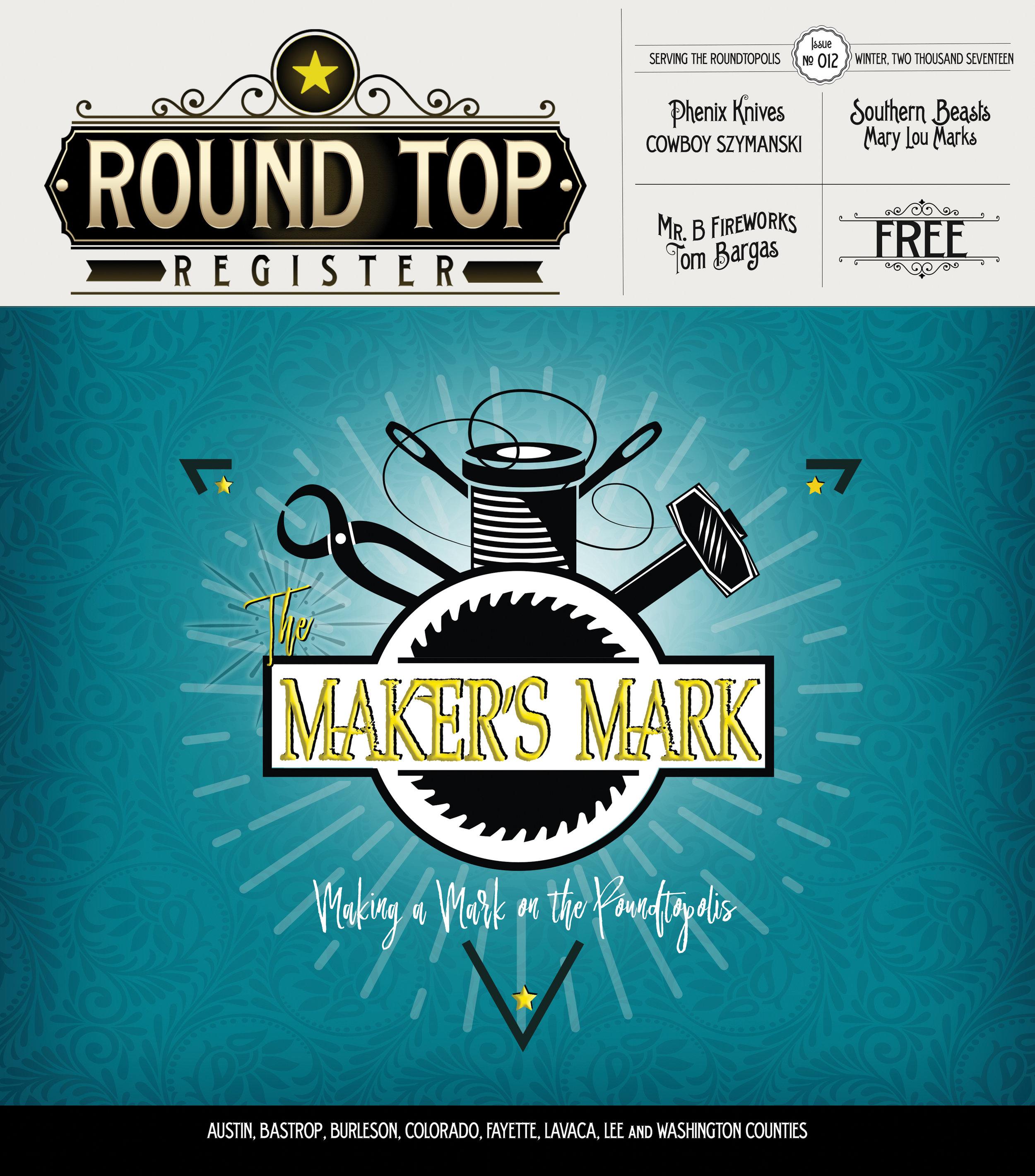 Round Top Register Issue #12 Winter 2018