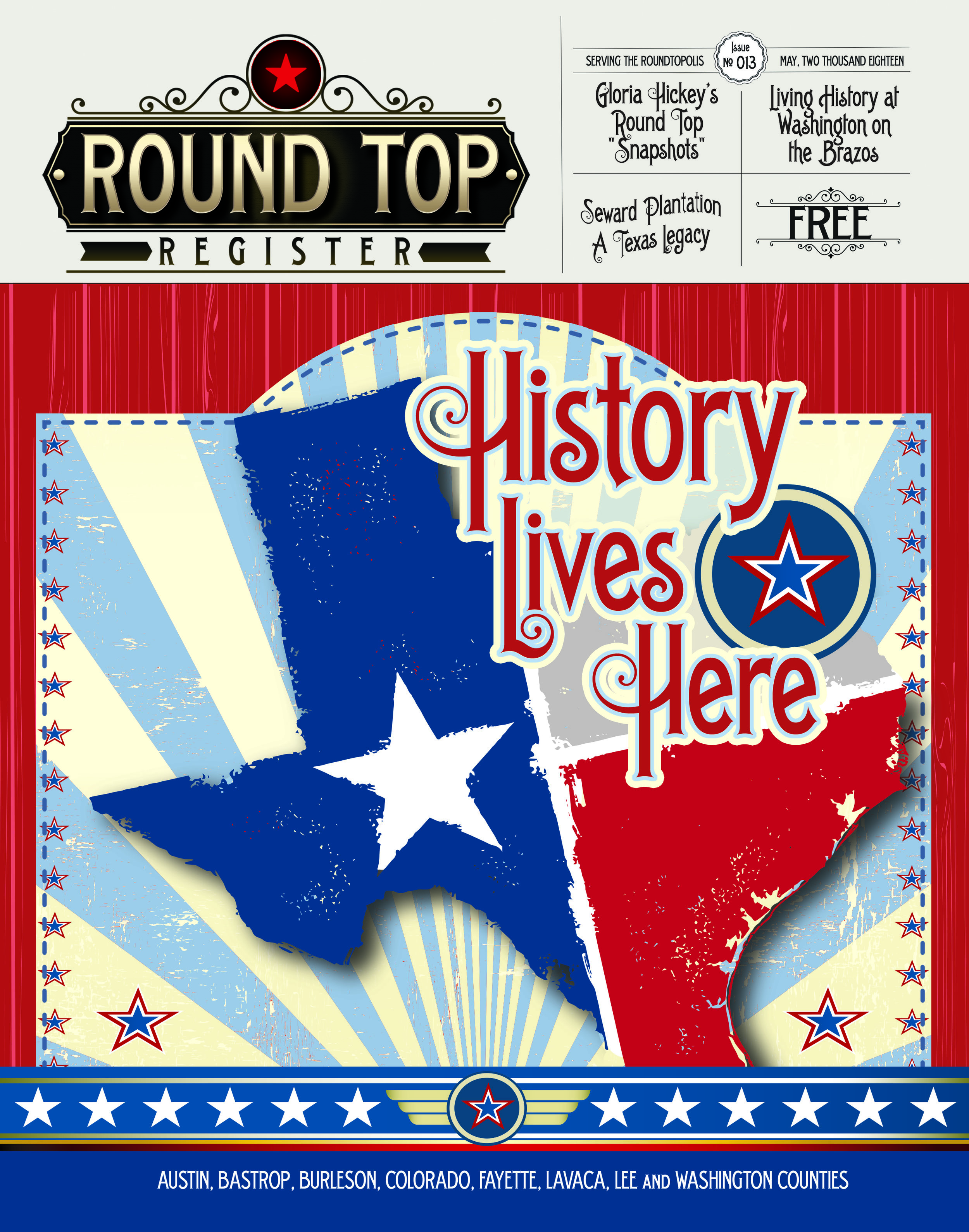 Round Top Register Issue 13 May 2018
