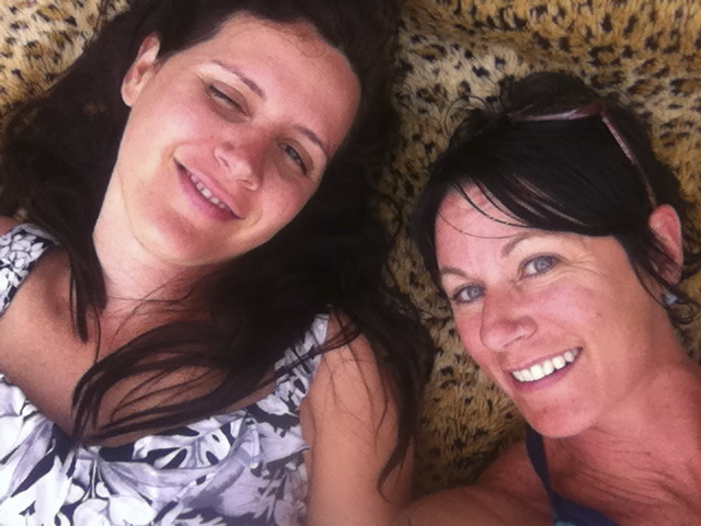 Lianette and I lounging in Yosemite National Park after a healthy picnic lunch. Grateful for your friendship and reflection, beautiful lady!