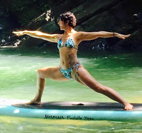 Heidi Michelle on the Rio Baru in Costa Rica