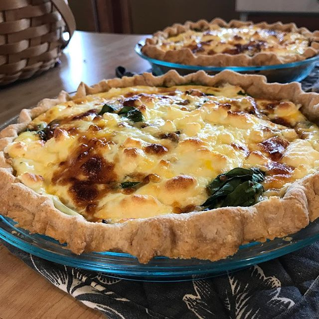 Sunday lunch #mywifeisawesome #quiche
