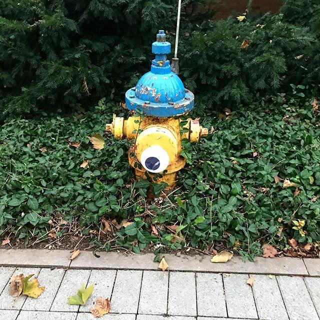 Minion fire hydrant #minions