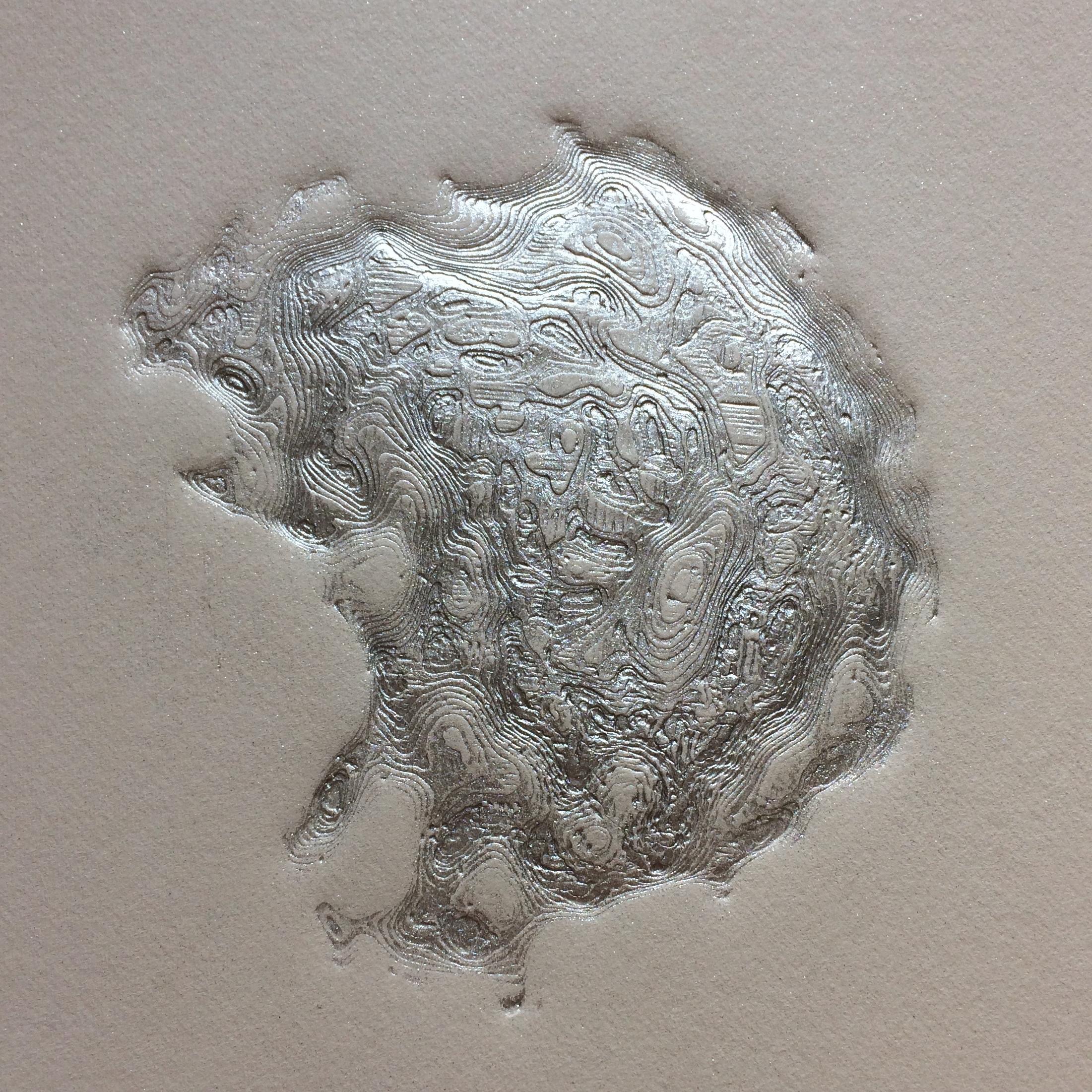 'Seascape' in aluminium