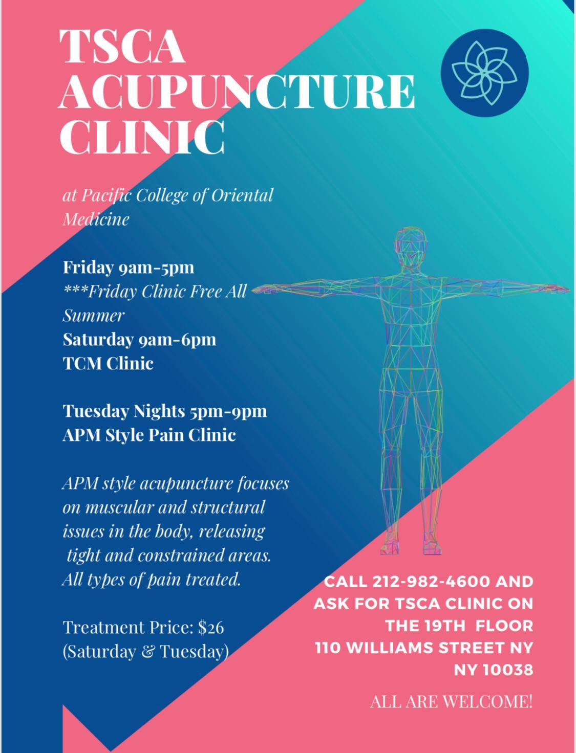TSCA.ClinicFlyer