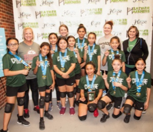 Gold  - Colliage   Silver  - Peak Power Puffs  Bronze  - Girls Saints