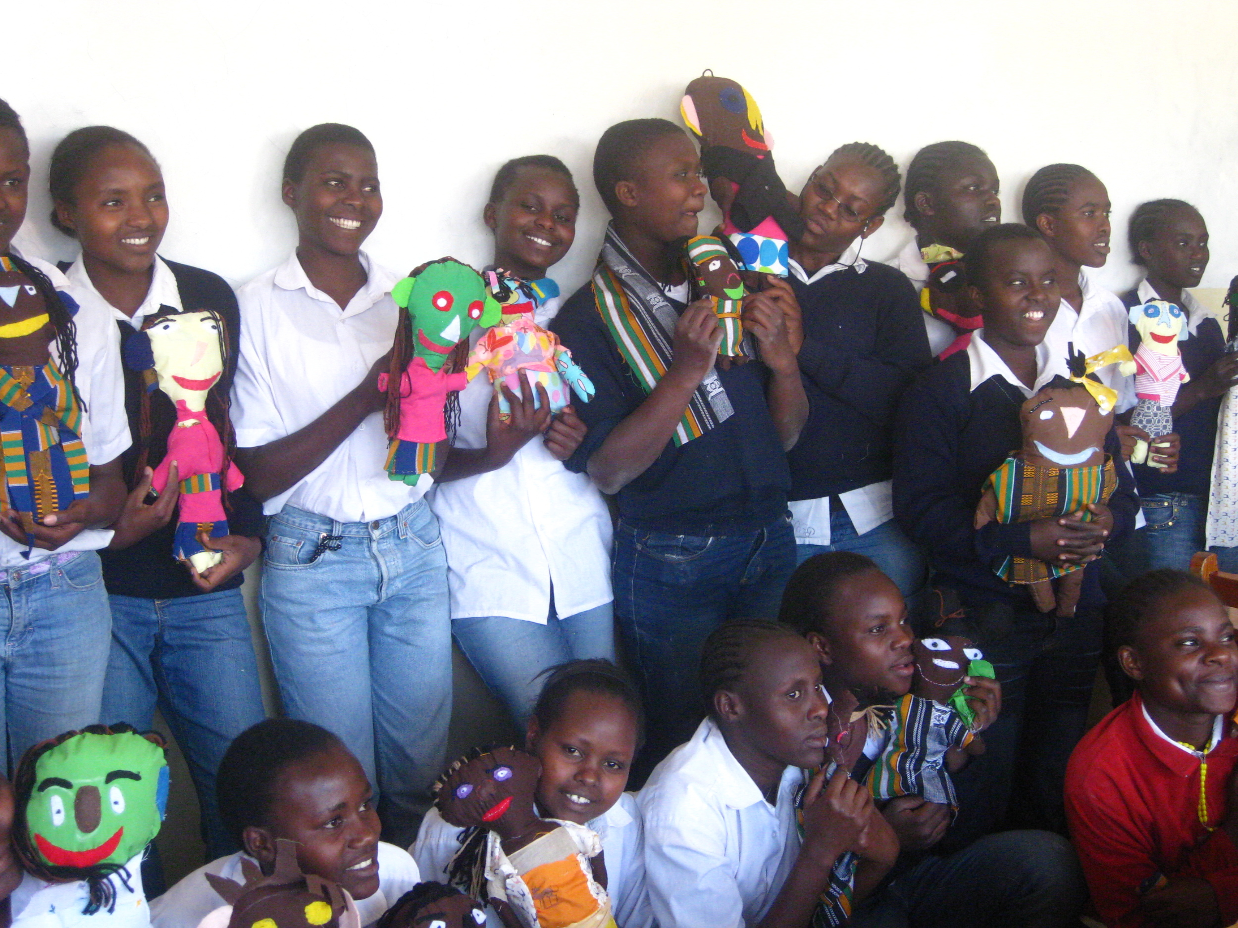 Crafty Kids in Meru, Kenya