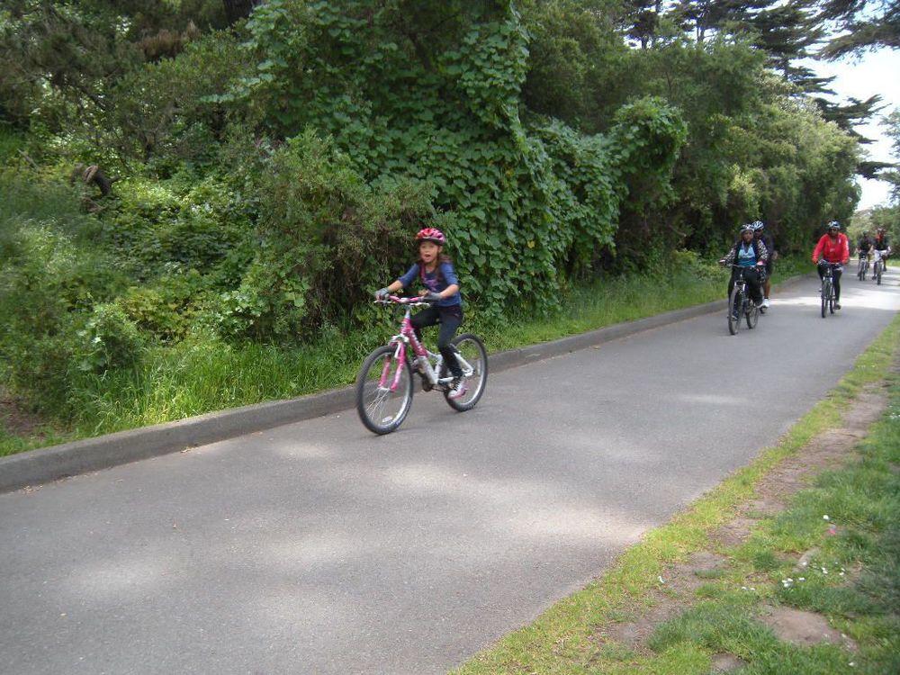 A past biking trip for families