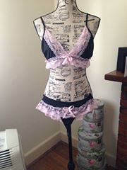Size 12 with G string bottom and soft cup
