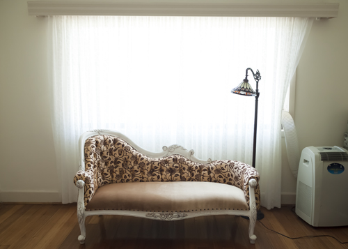My beautiful Chaise lounge, worth EVERY day that I waited for her!