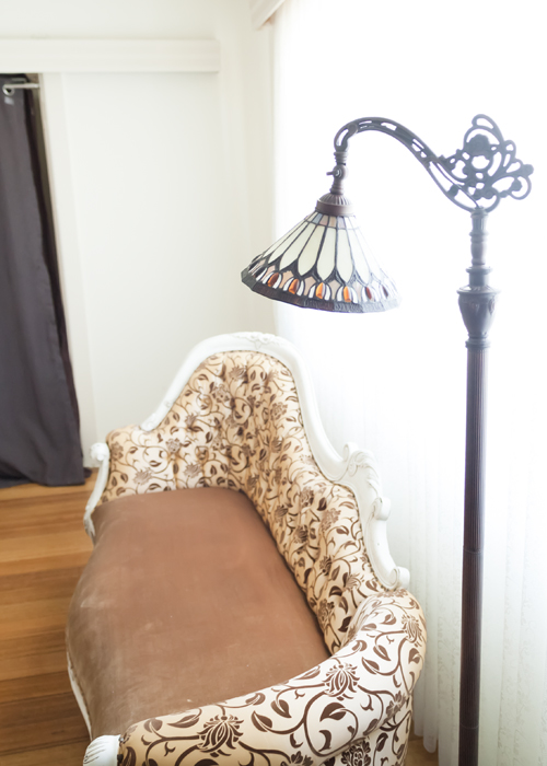 The versatility of a chaise is in the different angles it can be photographed at. I look forward to seeing how many ways I can pose my beautiful clients on her.