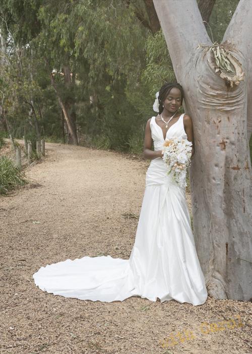 Doncaster Bride in Bushland setting