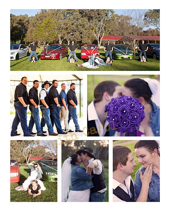 country wedding collage holdens