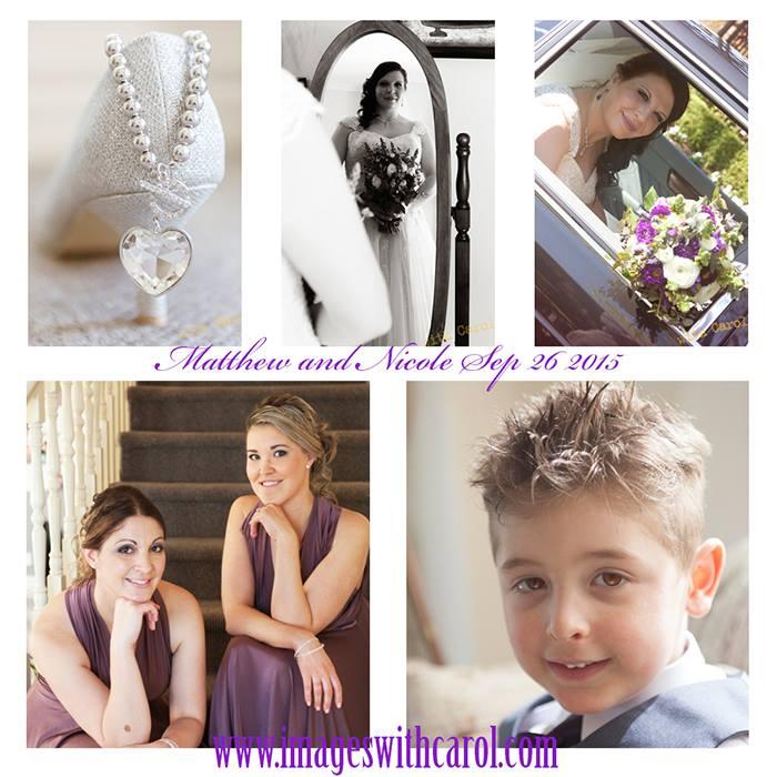 purple bridesmaids wedding accessories