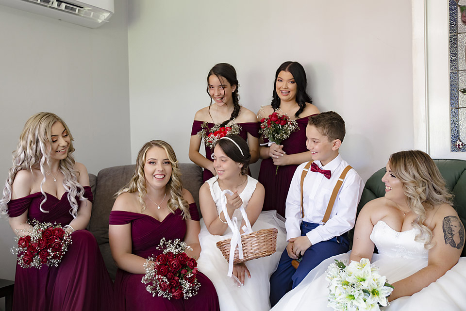 Planning your preparations will result in plenty of time to relax, and to get great photos before your wedding ceremony.