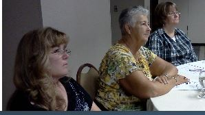Barb and Joy at luncheon.JPG