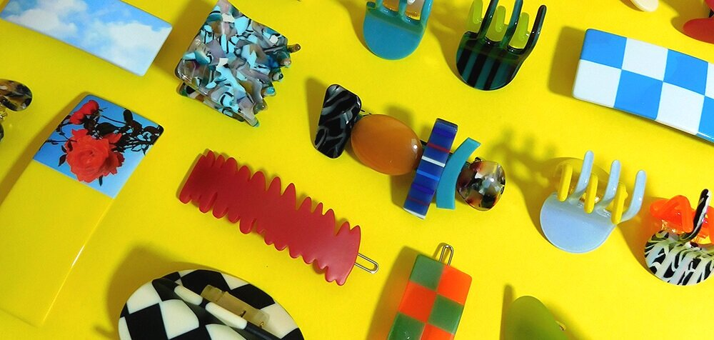 Colorful Clips and Barrettes   CHUNKS