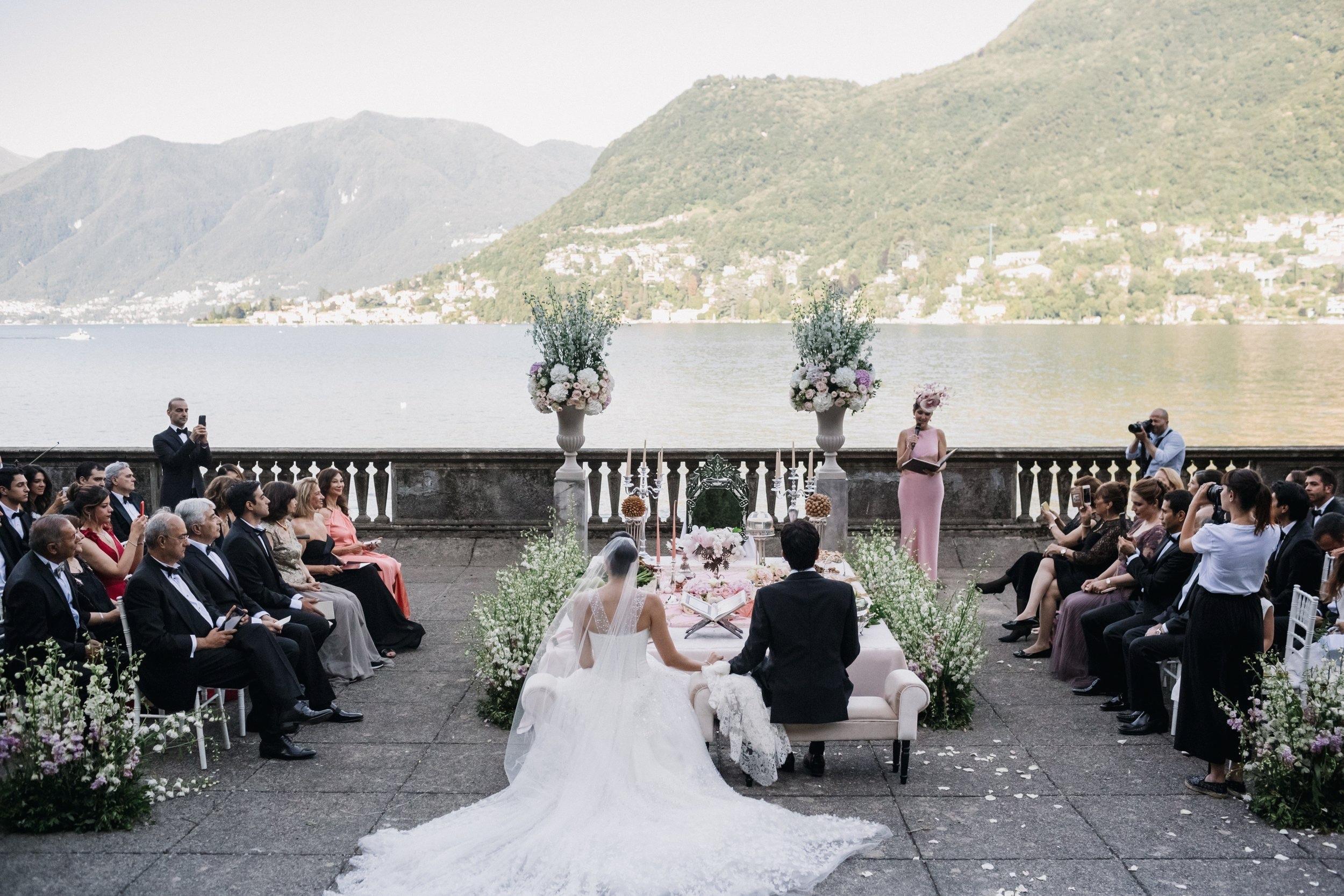 Persian Wedding Lake Como