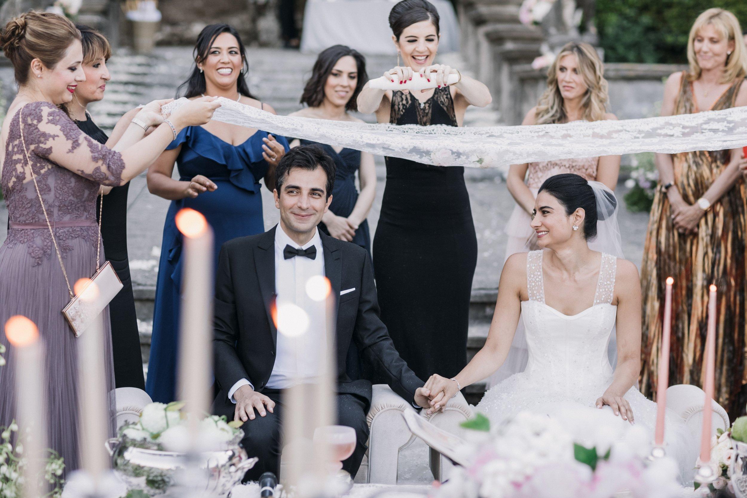 Persian Wedding Sugar Ceremony