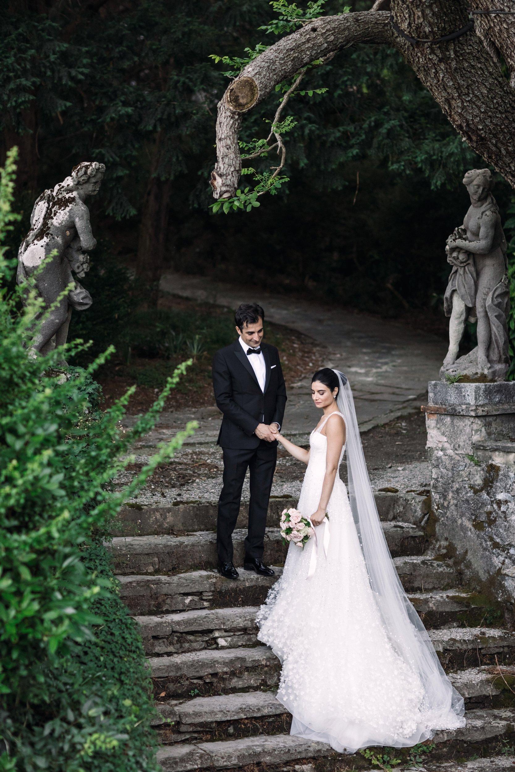 Persian Bride in Como