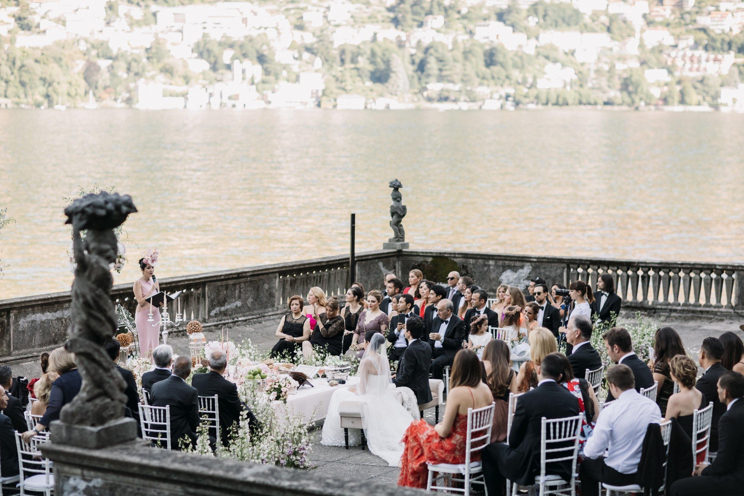 Persian Wedding Glamour Lake Como, Italy