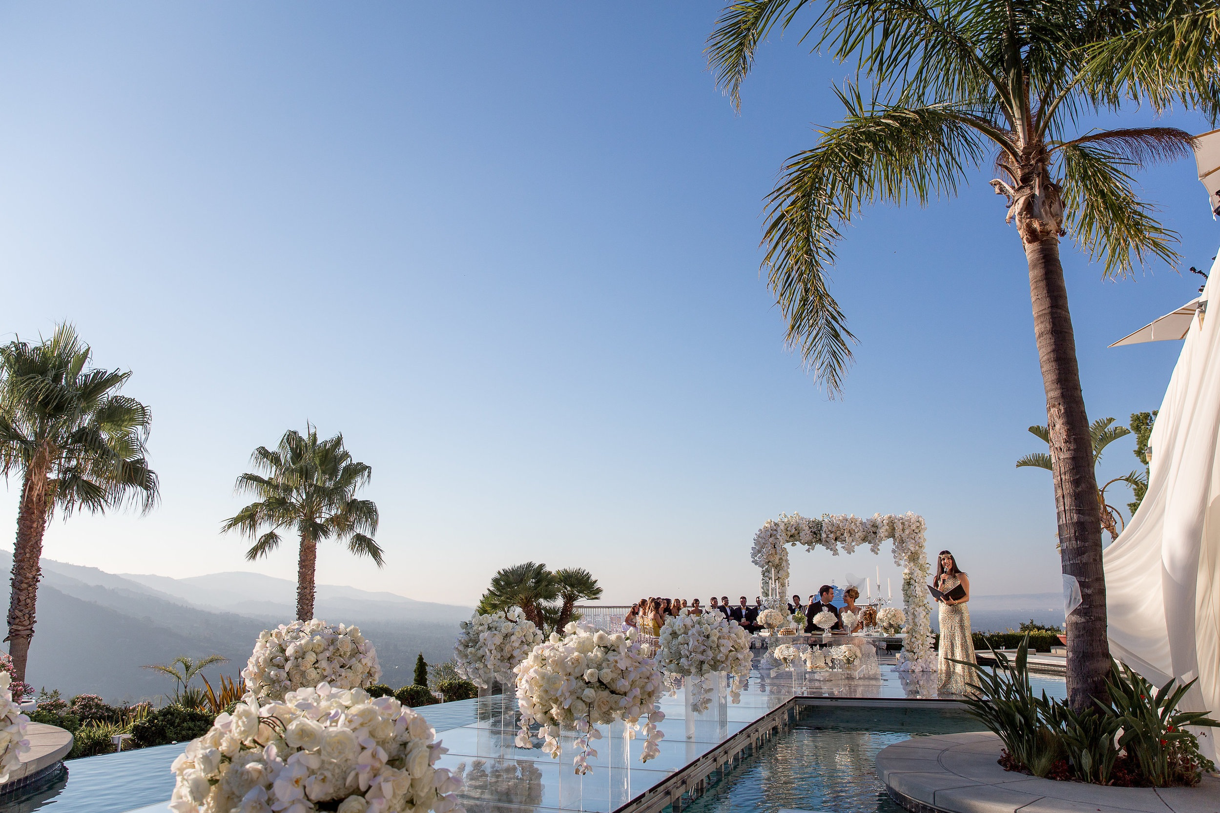 Pool Top Ceremony
