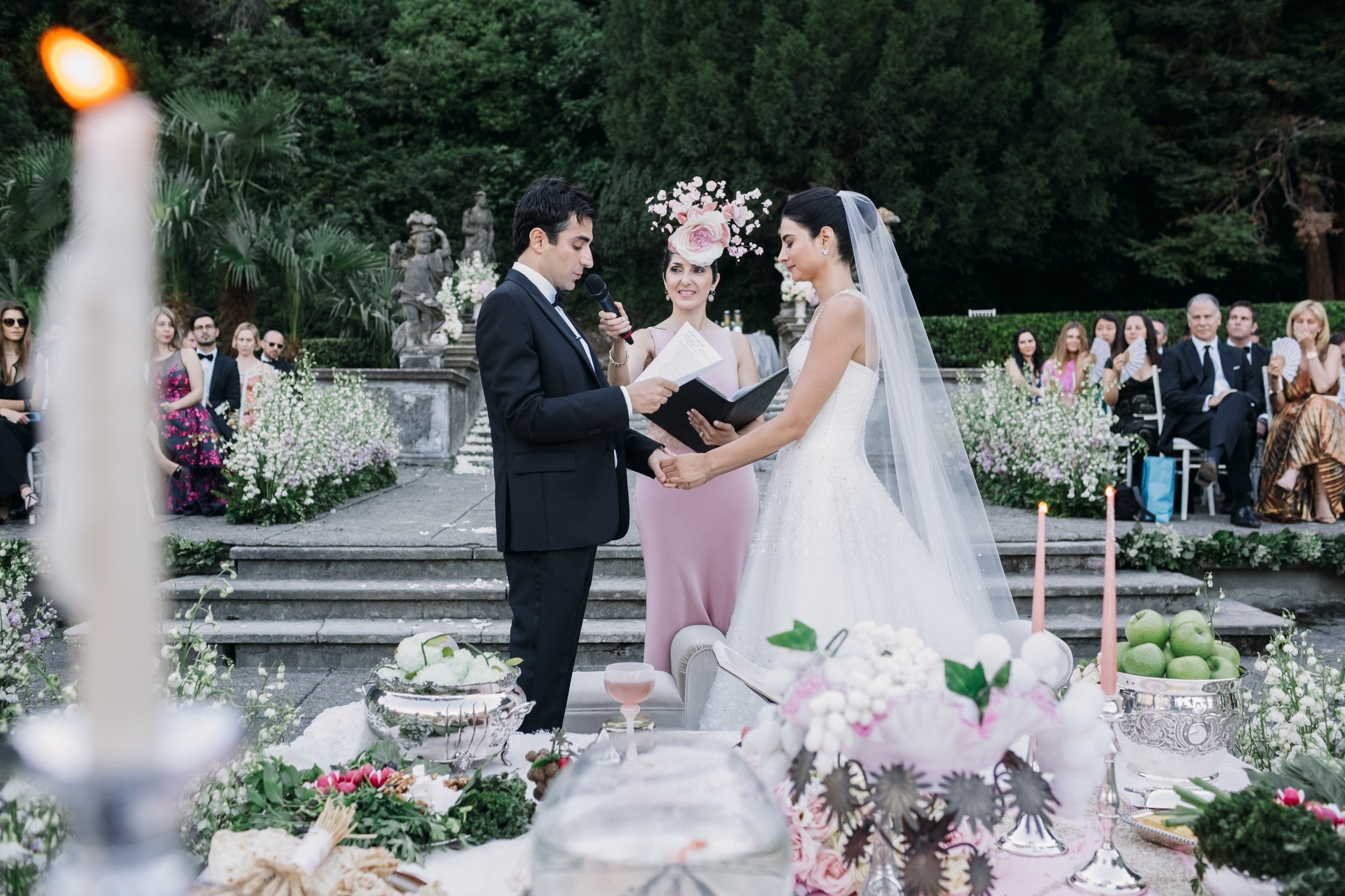 Officiant Services - Our team includes experienced officiants who will work with you and your partner to create a unique and memorable service for your wedding. Your ceremony will be a reflection and celebration of your backgrounds, families and story of love. Visit our SERVICES page for more details.