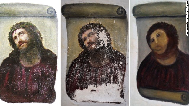 http://www.cnn.com/2013/08/16/travel/botched-fresco-surprise-hit/