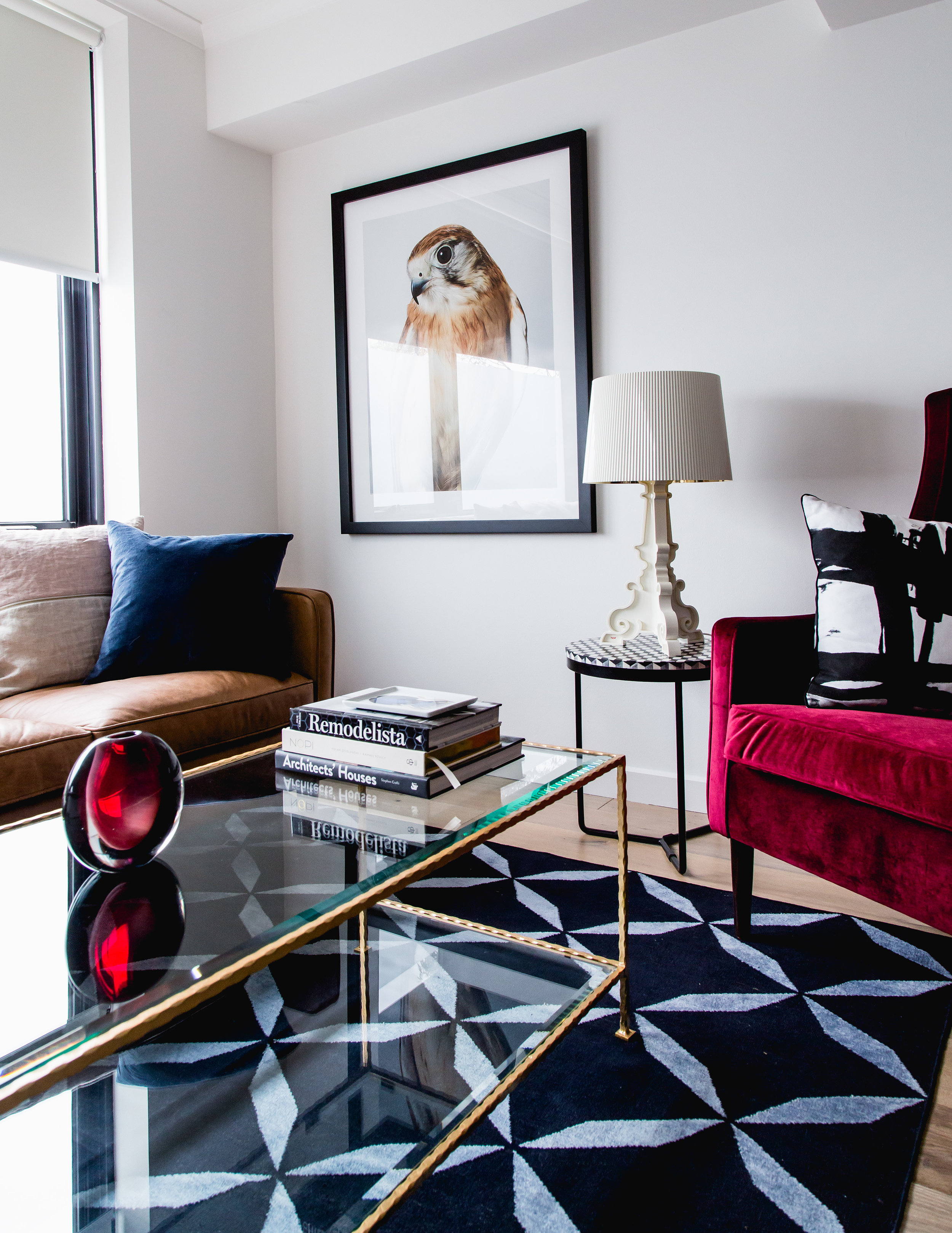 Styling by The Den Interiors / Style assist by Bea + Co