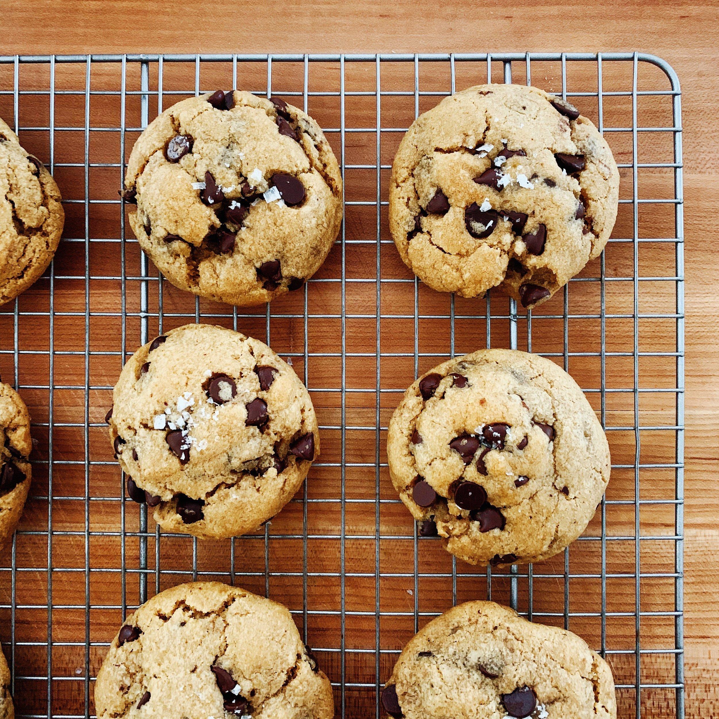 The Secretly Vegan Chocolate Chip Cookies