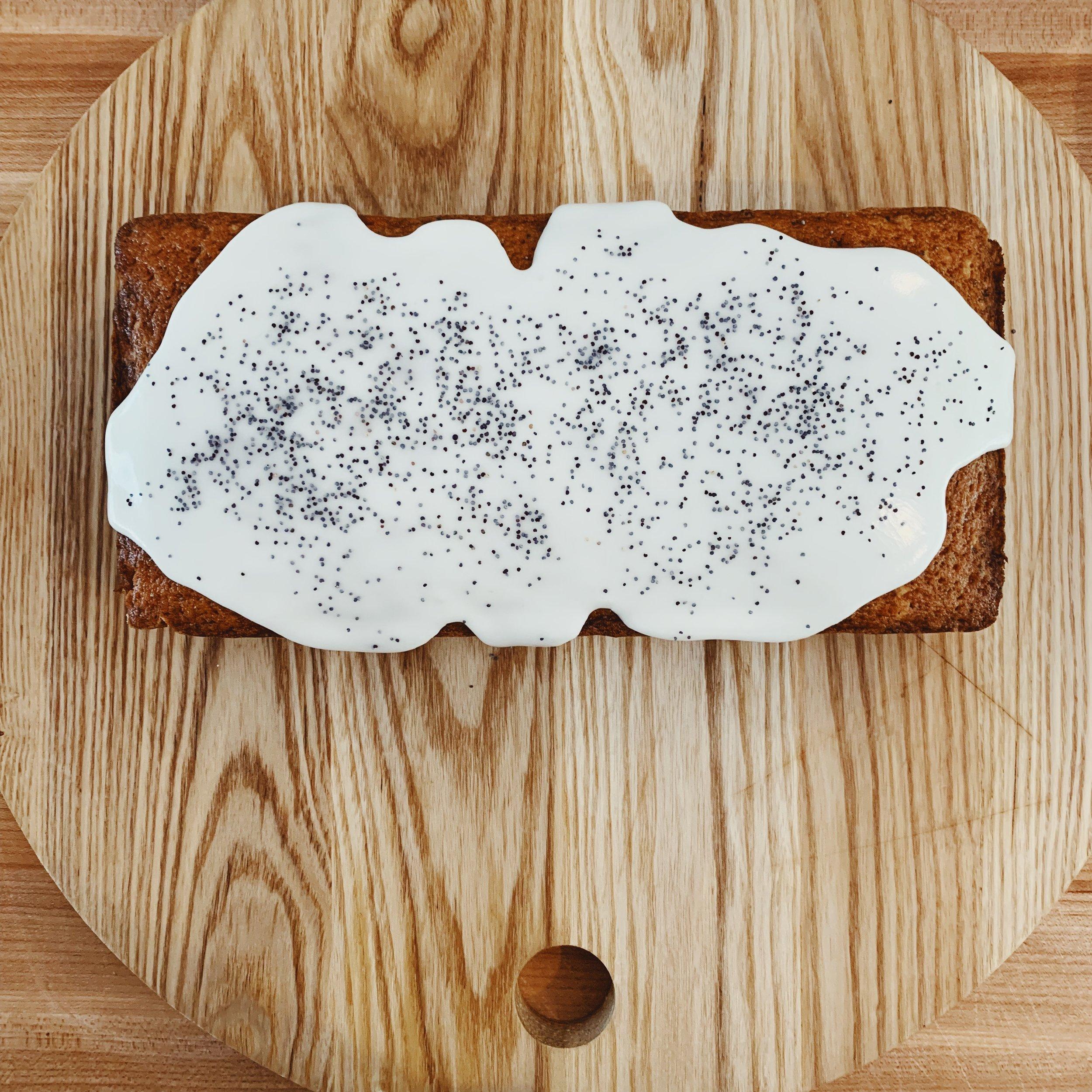 Lemon Poppyseed Loaf