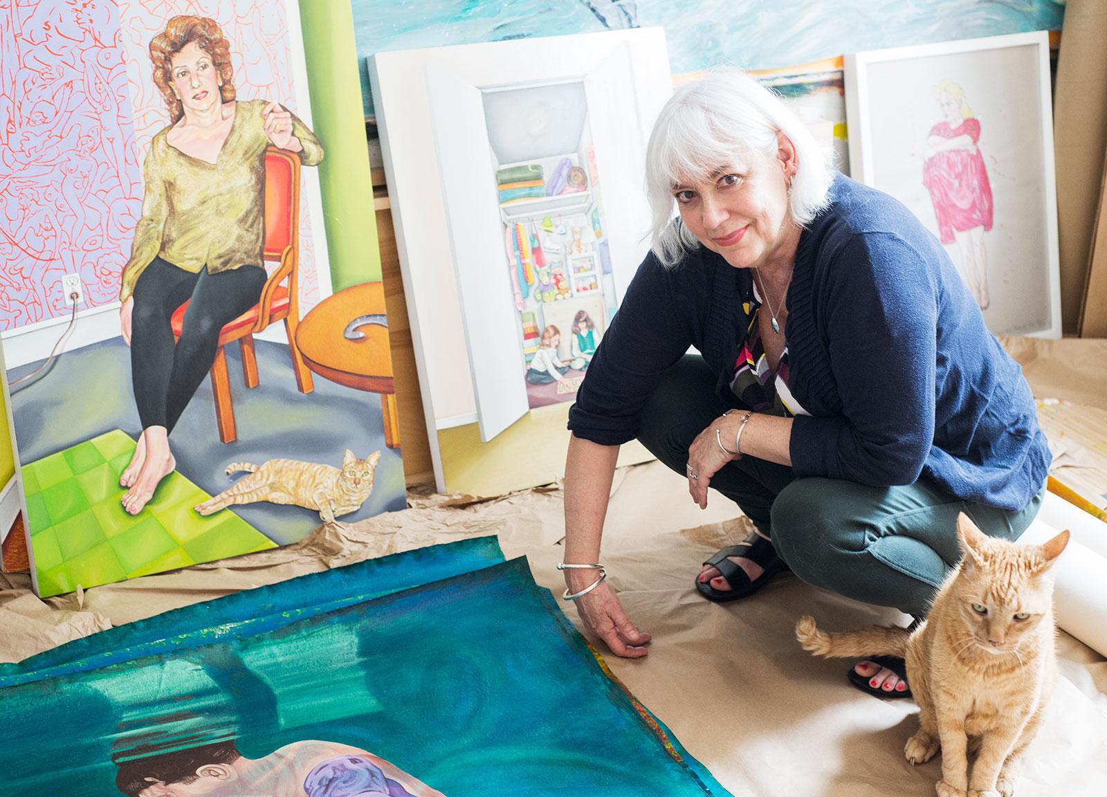 Artist Robin Tewes