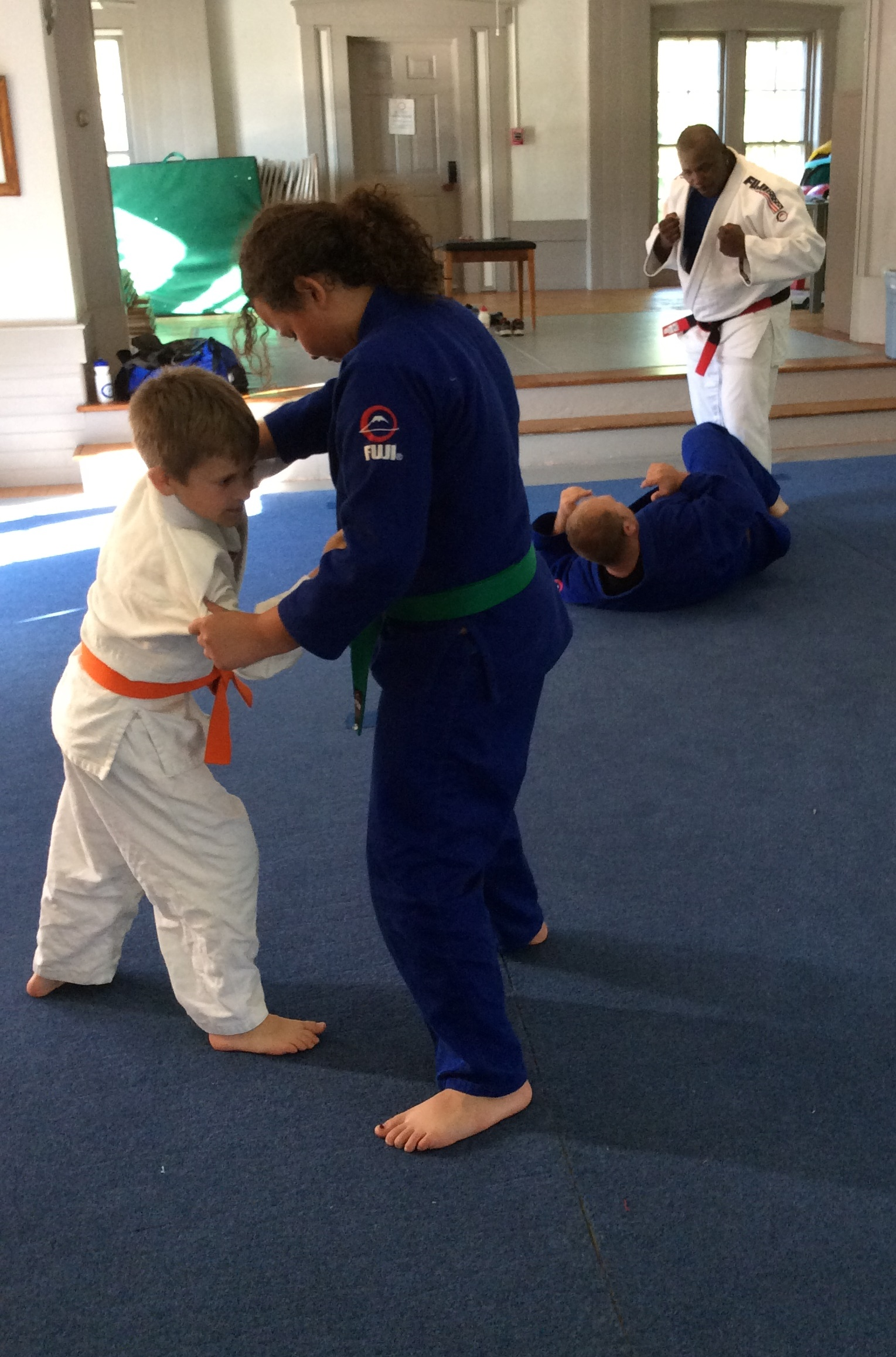 Judo classes are offered all year round for kids and adults.