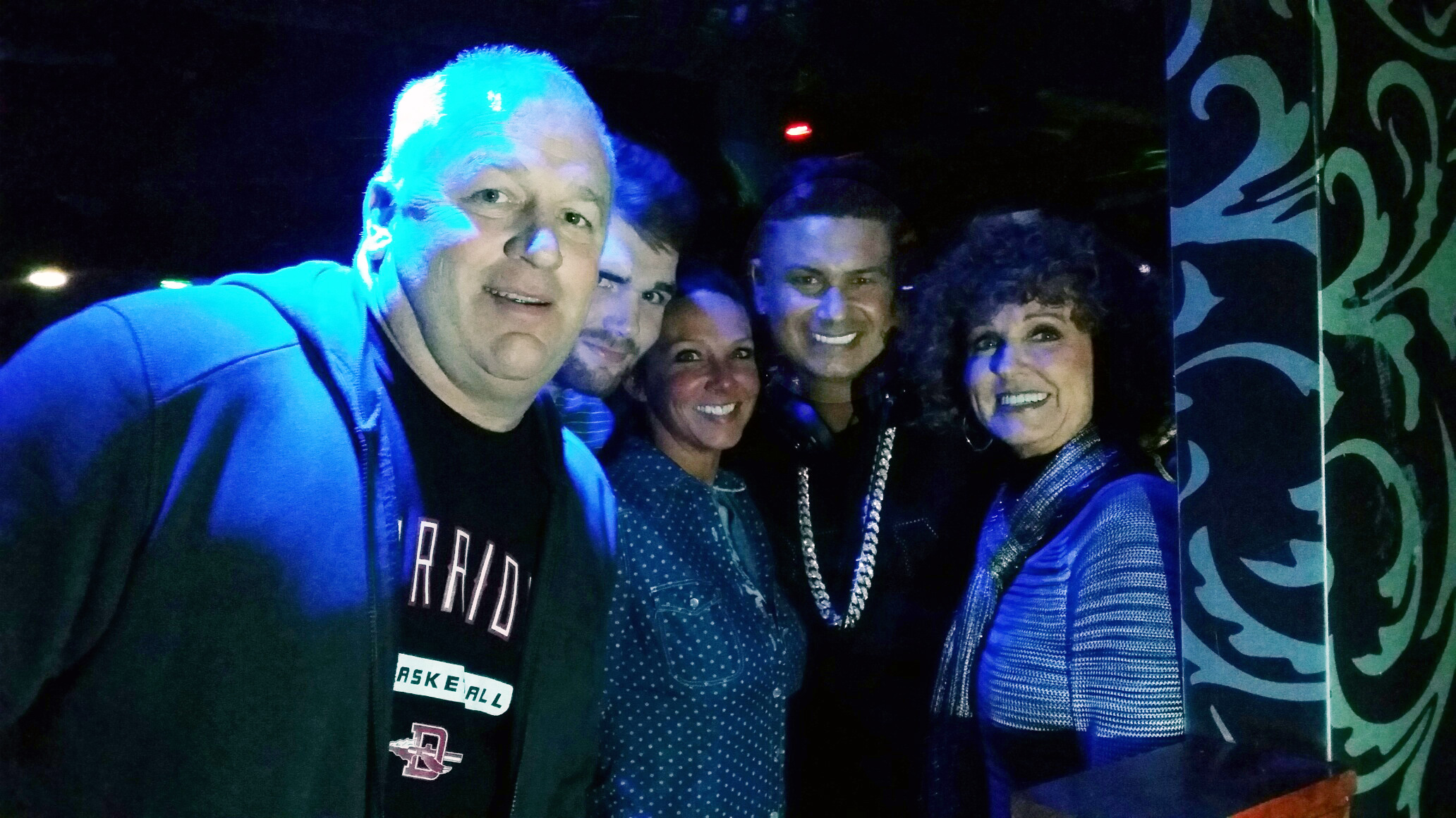 Left to Right: David, Michael, Andrea, Pauly D™, and Teri.