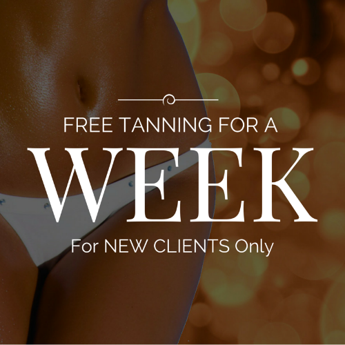 We are so convinced you will switch to Sun Spot after trying our luxury beds, beautiful salons, and great pricing that we are giving new clients a FREE WEEK of tanning.
