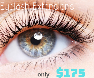 We Are Currently Offering a Full Set of Eyelash Extensions for Only $175