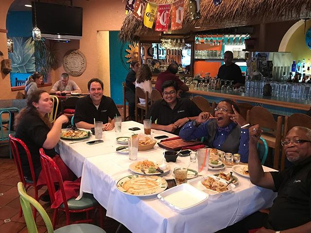 Team night - Mexican food
