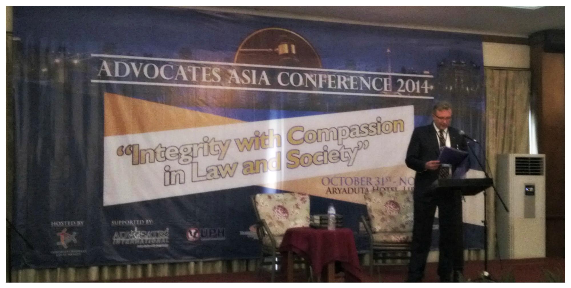 Advocates Asia 2014