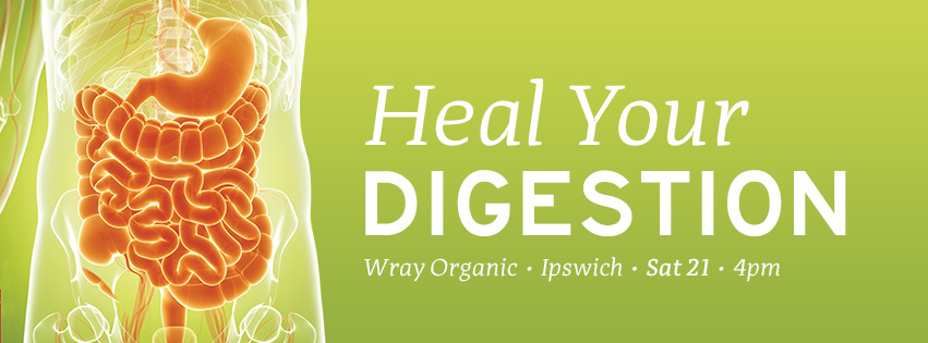 Learn about digestive disorders & how these relate to anxiety, fatigue, eczema, allergies, lowered immune function & much more! Plus Angela will cover simple steps to improving your digestive function, energy & overall health TODAY!    Price - $20    Bookings Essential and space is limited so please call 3812 3300 to book.