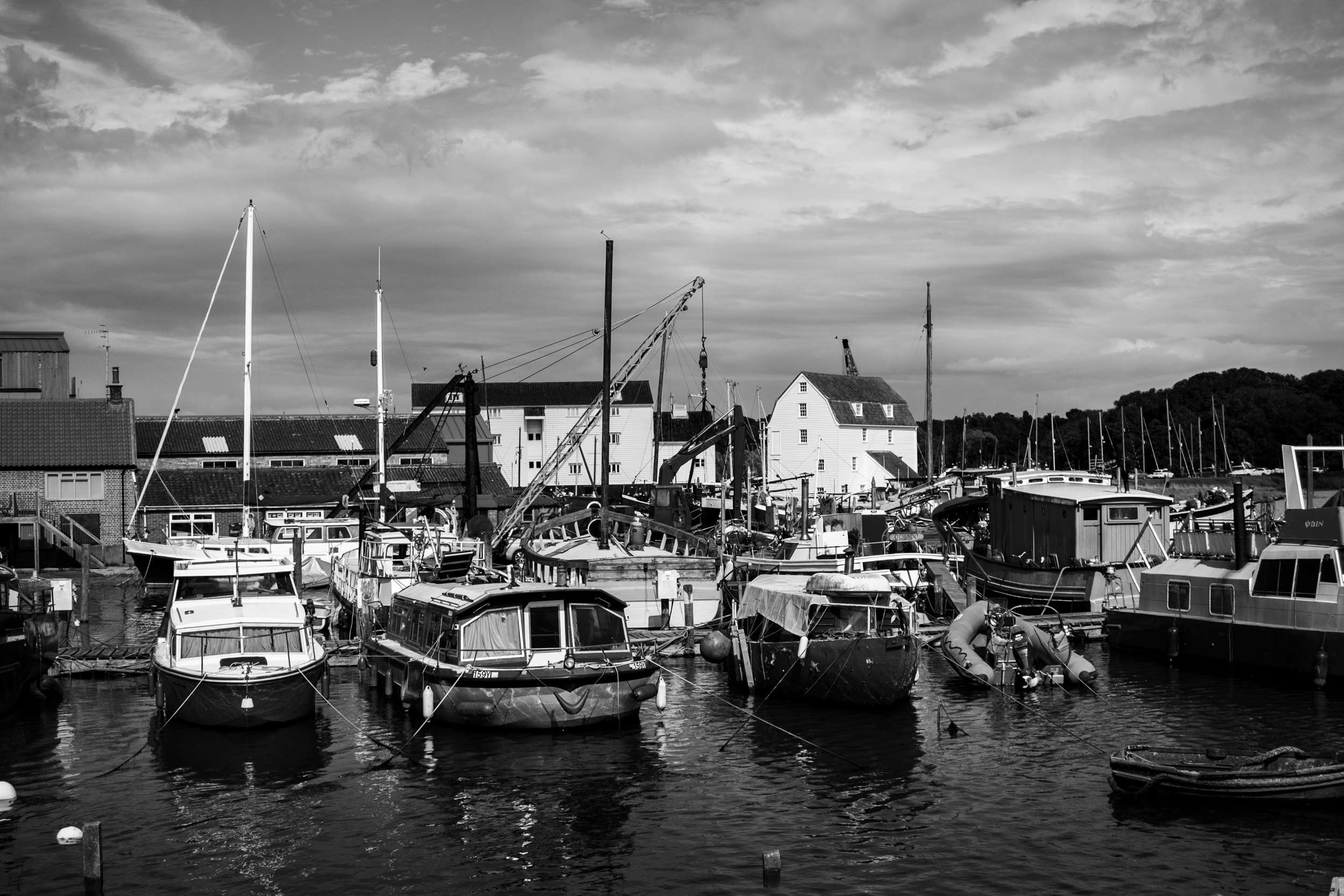 Woodbridge in suffolk, one of my favourite places in the UK. Shot on the Fujifilm X-E1 with post in Lightroom Classic