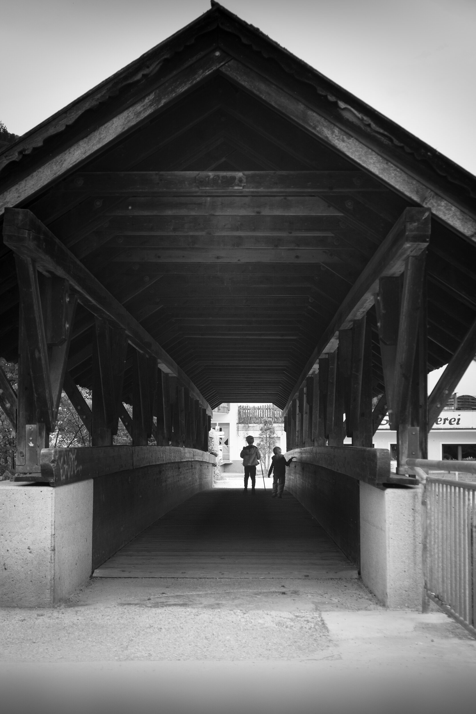 The 'Harry Potter Bridge near the Ahornbahn