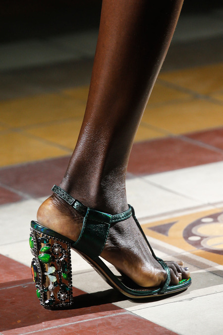 Spring 2014 Fashion   The top shoes from the runway