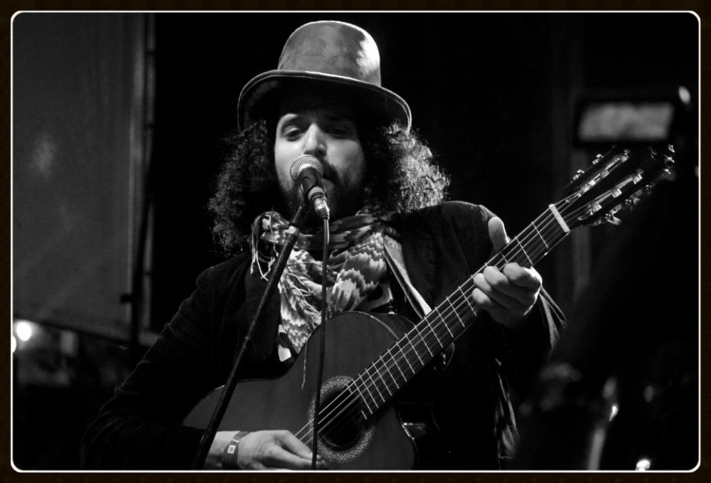 Frederico7 w/  Suns of Orpheus  @  Pan Americana Festival  2013- SXSW. Photo by  Rafael Samano