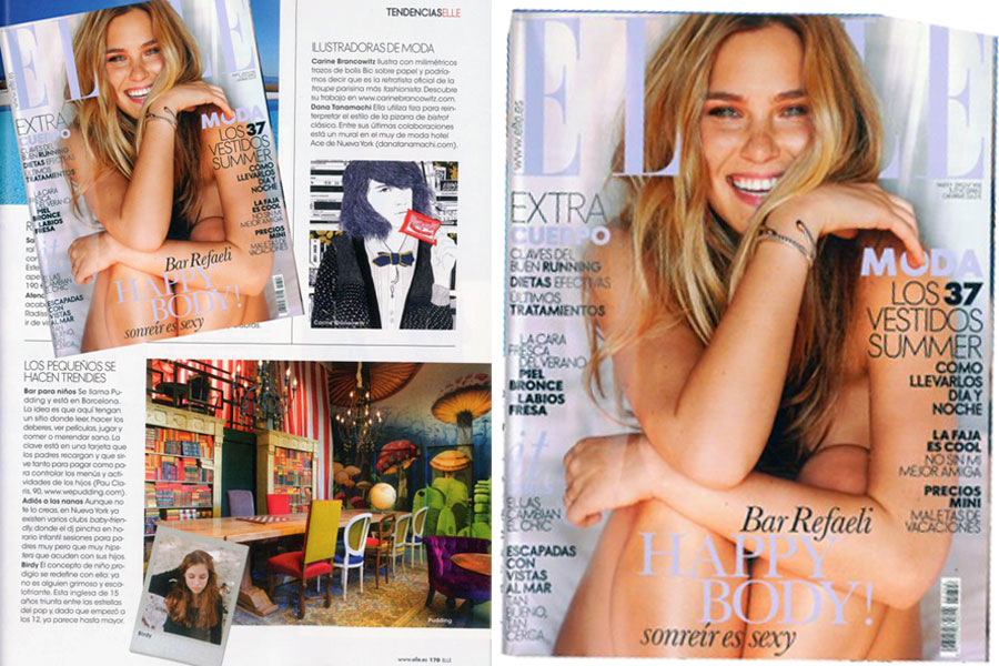 "Press article in ""ELLE"" Spain"