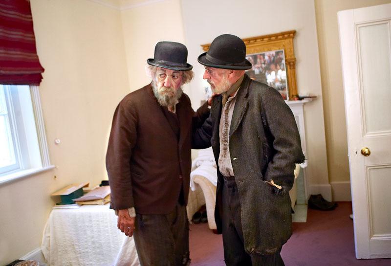 Ian McKellen & Patrick Stewart