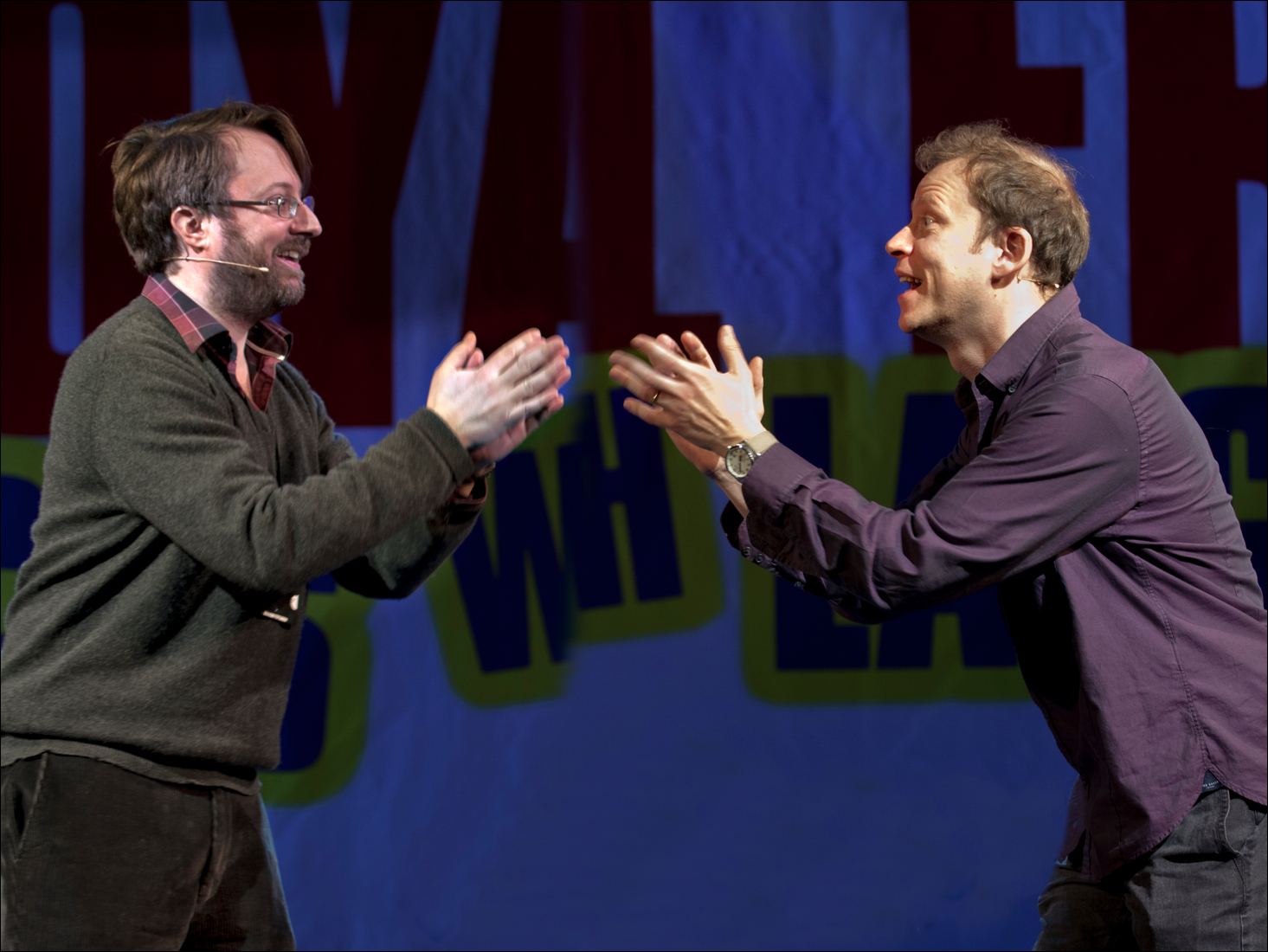 David Mitchell and Robert Webb