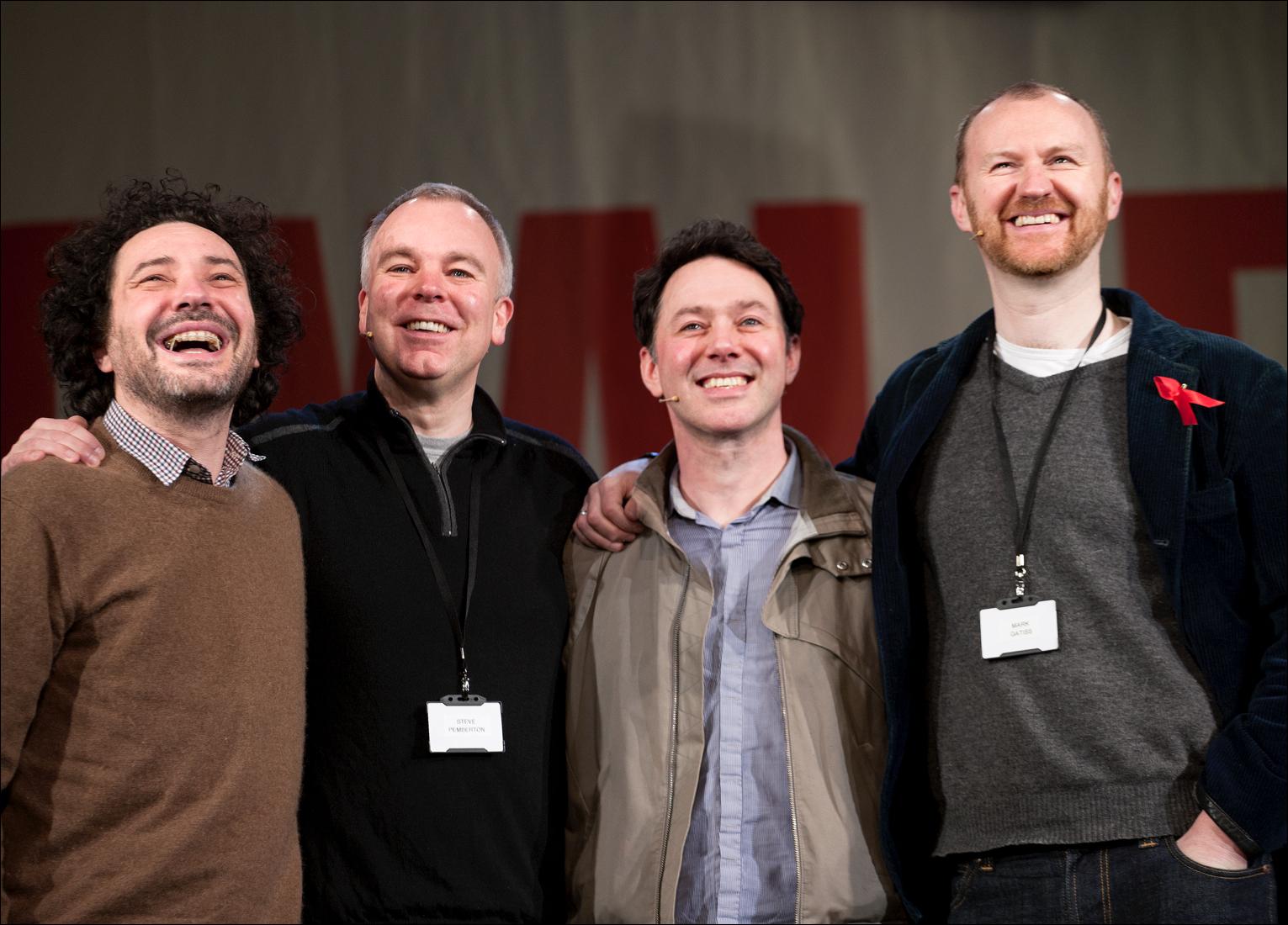 Jeremy Dyson, Steve Pemberton, Reece Shearsmith and Mark Gatiss