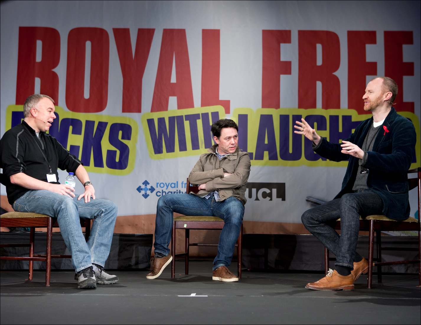 Steve Pemberton, Reece Shearsmith and Mark Gatiss