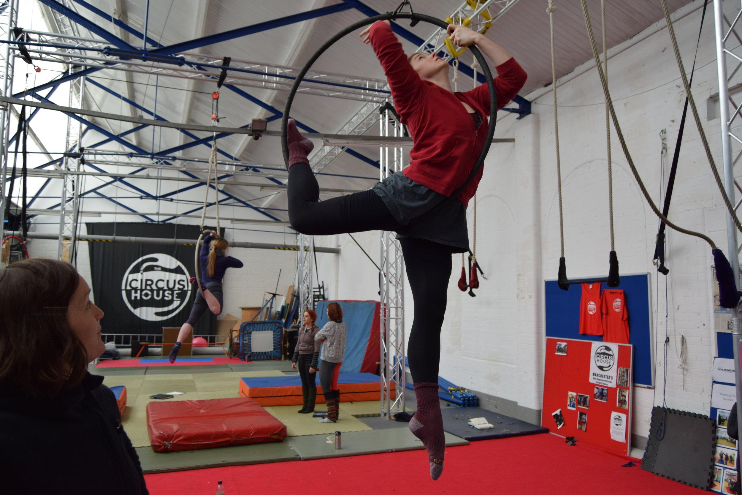 Aerial Hoop Masterclass