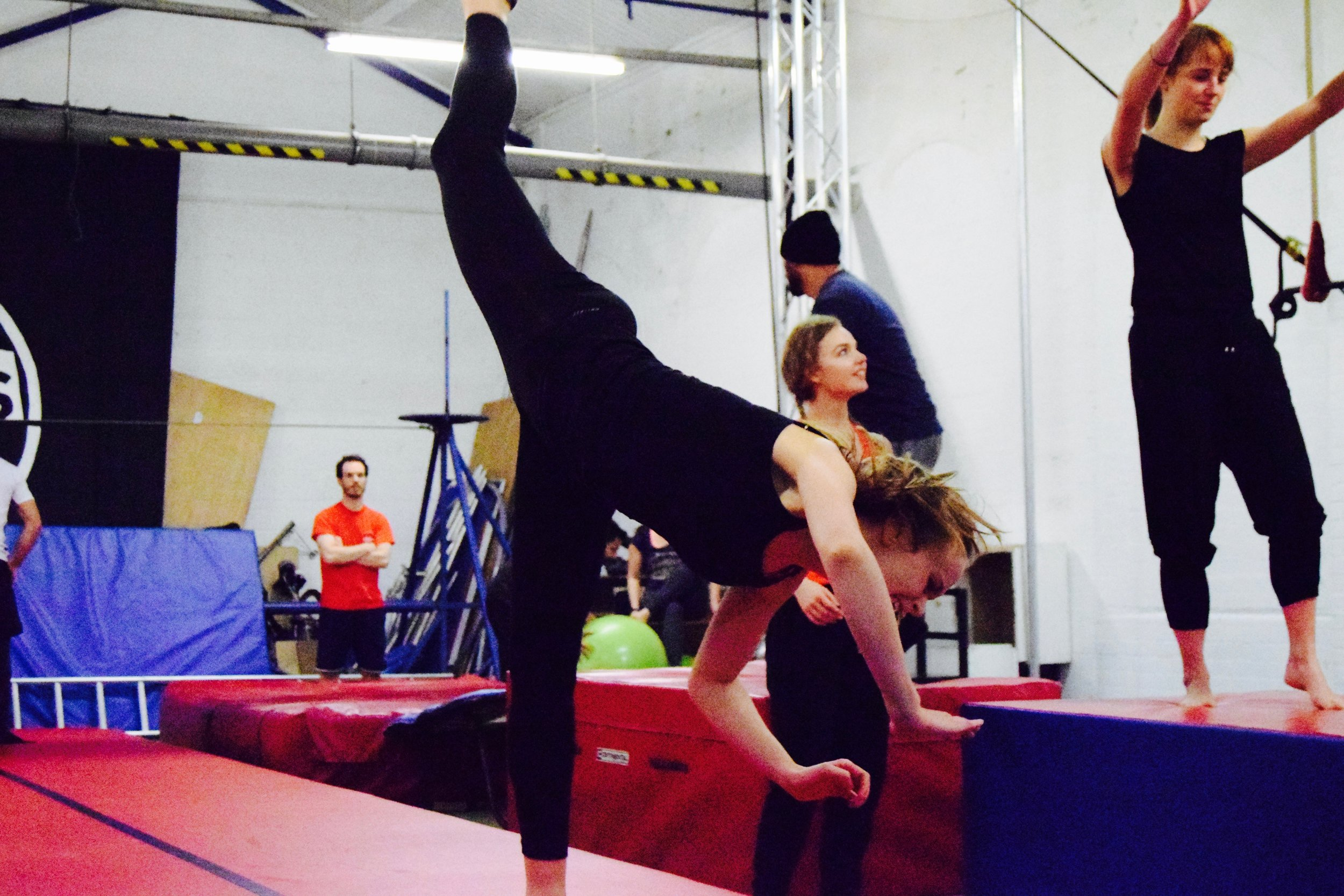 Copy of Copy of Tumbling and Acrobatics - Aerial